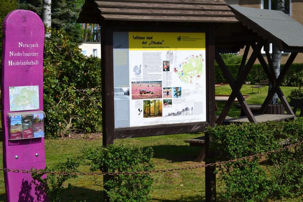 Dorf Anzeigetafel