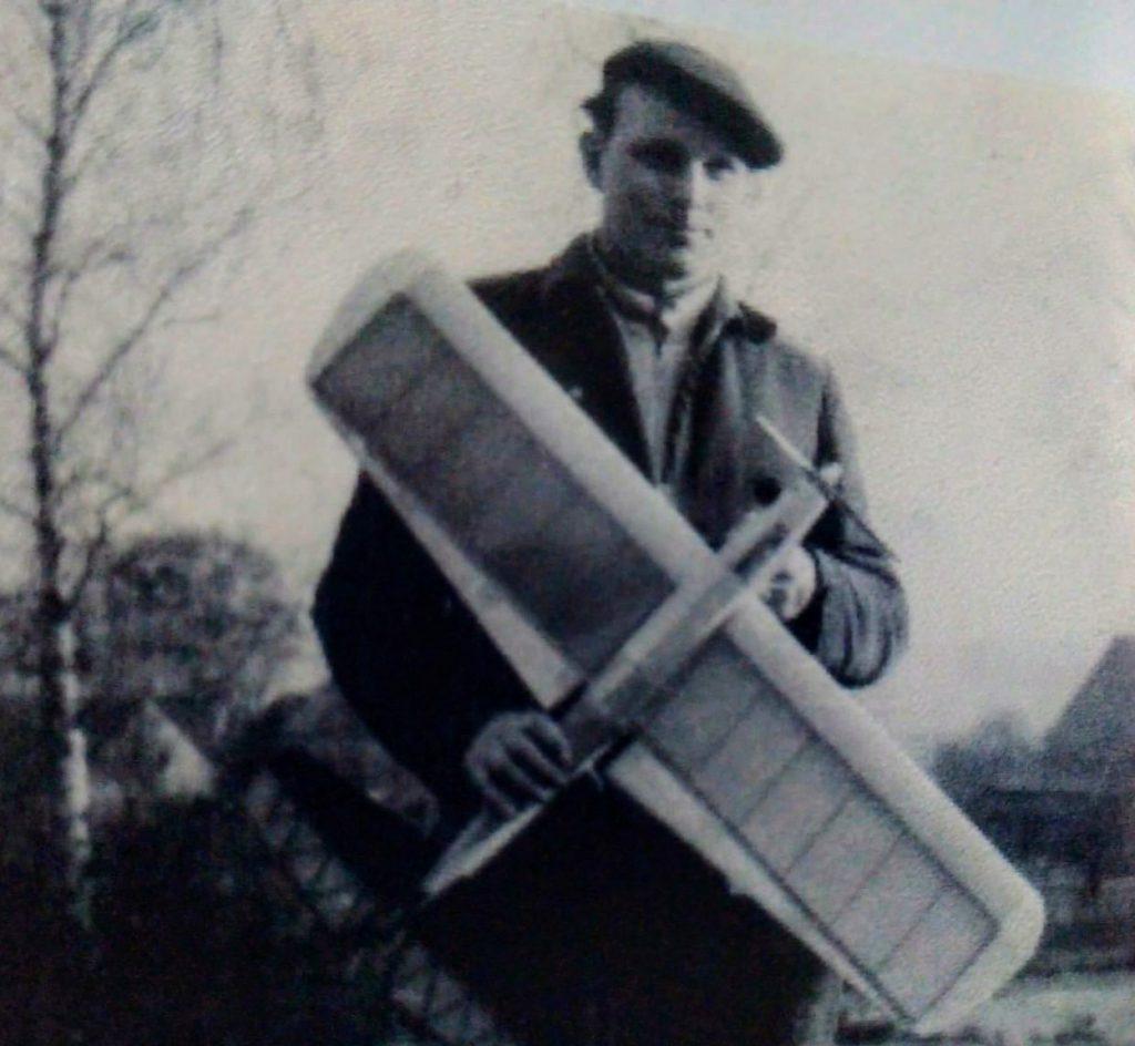 Helmut auf dem Fliegerberg