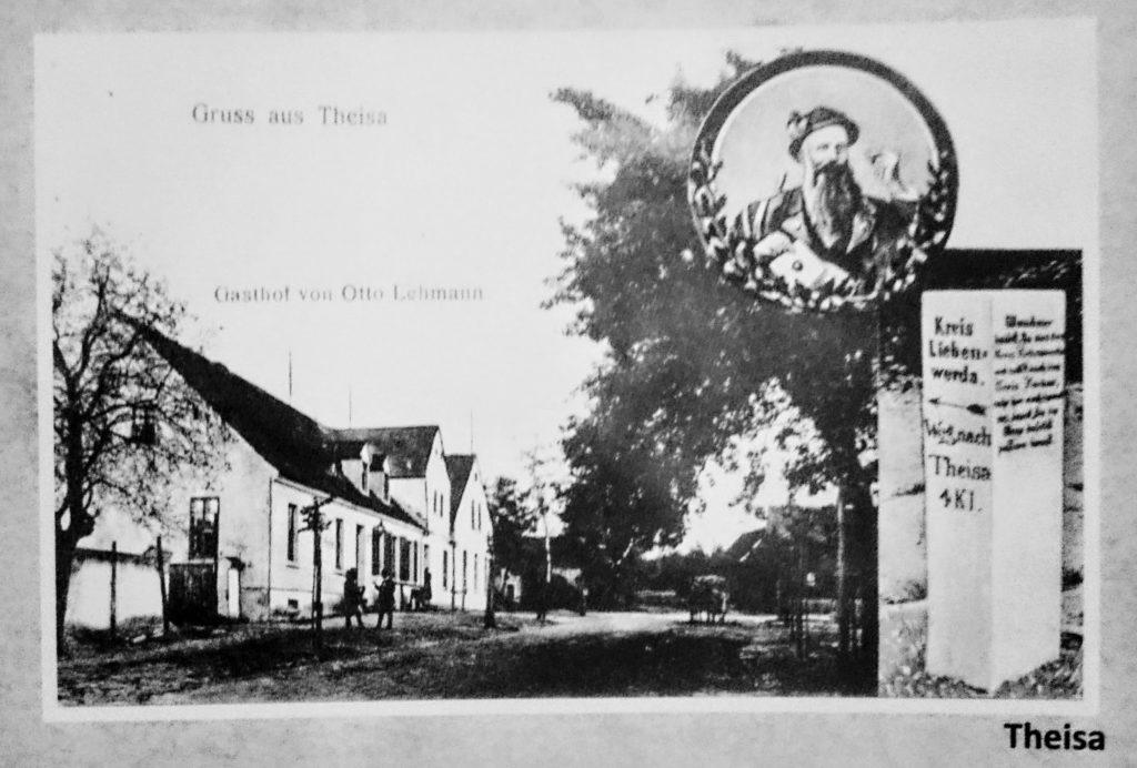 Postkarte von Theisa